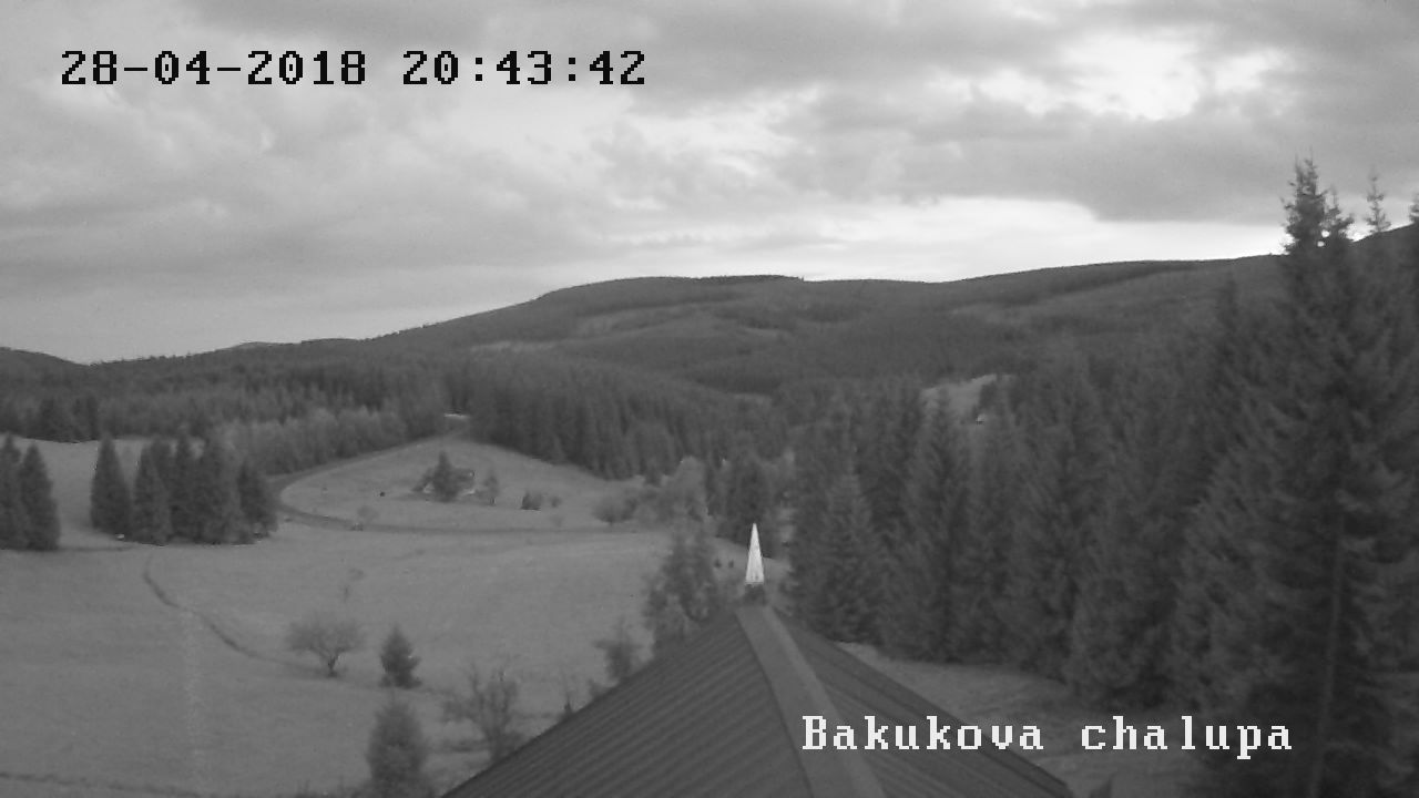 webkamera Bakukova chalupa